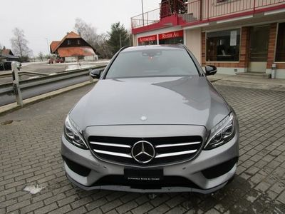 gebraucht Mercedes C400 C-KlasseAMG Line 4Matic 7G-Tronic