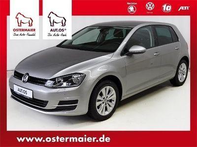 gebraucht VW Golf VII Trendline 1.2TSI SITZHZG 2xPDC ALU CLIM