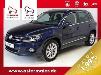 gebraucht VW Tiguan Sport & Style 1.4TSI AHK SITZHZG CLIMATRO