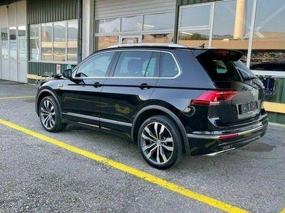 gebraucht VW Tiguan 2.0 TDI SCR Highline R Line 4Motion DSG 240 PS