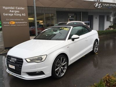 gebraucht Audi A3 Cabriolet 1.8 TFSI Ambition S-tronic