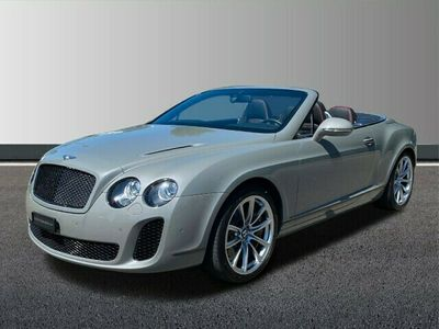 gebraucht Bentley Continental Supersports convertible ISR Continental Conti. Supersp.Conv.