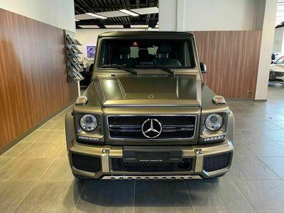 gebraucht Mercedes G63 AMG G-KlasseAMG Exclusive Edition Speedsh. Plus 7G-T