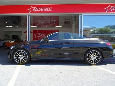 gebraucht Mercedes C200 C-KlasseAMG Line Cabriolet 9G-Tronic