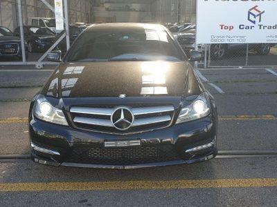 gebraucht Mercedes C180 Coupé 7G-Tronic