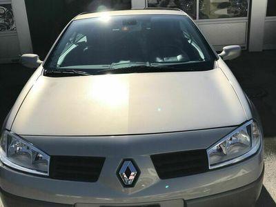 gebraucht Renault Mégane Cabriolet mit elektronischem Glasdach
