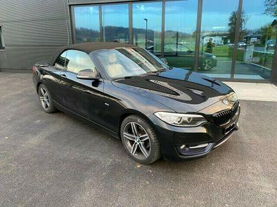 gebraucht BMW 218 2er d Luxury Line Steptronic