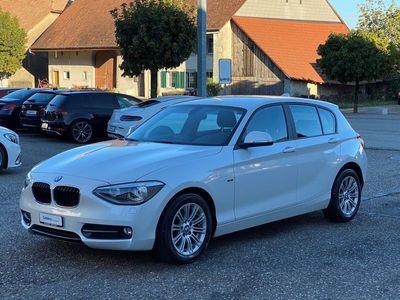 gebraucht BMW 116 i Sport Line Steptronic