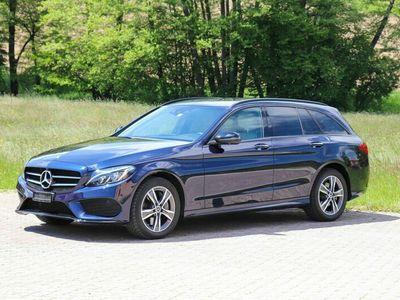gebraucht Mercedes C250 d Swiss Star AMG Line 4Matic 9G-Tronic