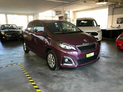 gebraucht Peugeot 108 1.2 VTi Allure ***NEUE KUPPLUNG***