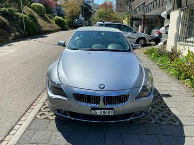 gebraucht BMW 645 Cabriolet 6er ab Mfk+Service