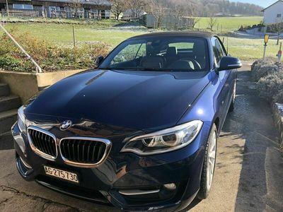 gebraucht BMW 220 2er 220i Sport Line Steptronic mit Garantie ( EuroPlus) 2er i Sport Line Steptronic mit Garantie ( EuroPlus)
