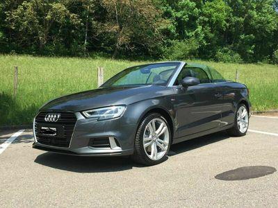 gebraucht Audi A3 Cabriolet  2.0 TFSI Design
