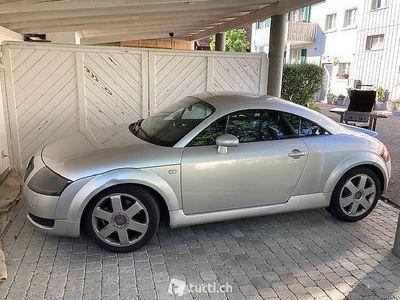 gebraucht Audi TT 1,8 Coupé grau-met.