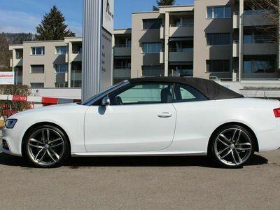 gebraucht Audi RS5 S5 /S5 Cabrio 3.0 TFSI quattro S-tronic *gletscherweiss*