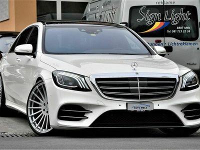 gebraucht Mercedes S350 d L 4Matic 9G-Tronic AMG-Line ***WERKSGARANTIE BIS 03.2023**