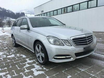 gebraucht Mercedes E350 E-Klasse MercedesCDI 4 matic T-Model frisch ab MFK