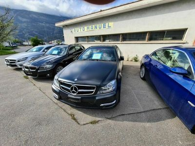 gebraucht Mercedes 350 C-Klasse MercedesCoupe Mattschwarz