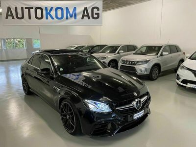 gebraucht Mercedes E63 AMG E-Klasse4Matic Speedshift MCT