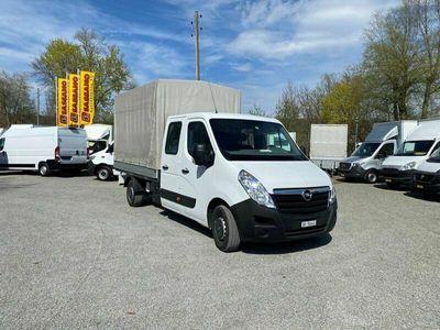 gebraucht Opel Movano Doppelkabine mit Verdeck