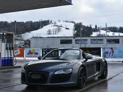 gebraucht Audi R8 Spyder R8 Spyder 5.2 R-Tronic *CH-Fahrzeug**Vollleder**Navi**Rückfahrkamera* 5.2 R-Tronic *CH-Fahrzeug**Vollleder**Navi**Rückfahrkamera*