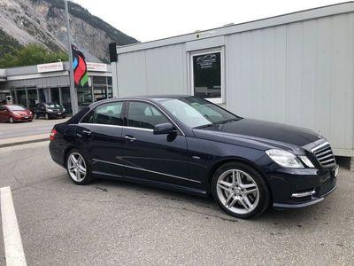 gebraucht Mercedes E500 E-KlasseCGI BlueEff. Avantgarde 4Matic 7G-Tronic