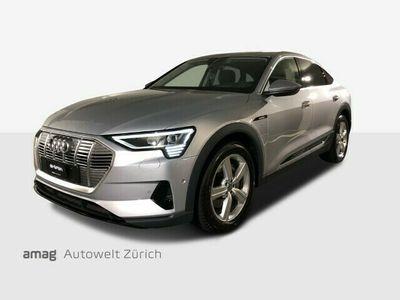 gebraucht Audi E-Tron - 50 Sportback quattro