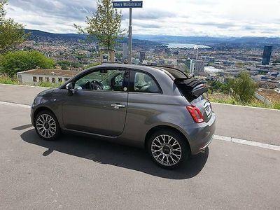 gebraucht Fiat 500C 1.2 Mirror Cabriolet mit 1 Jahr Garantie 4950 km