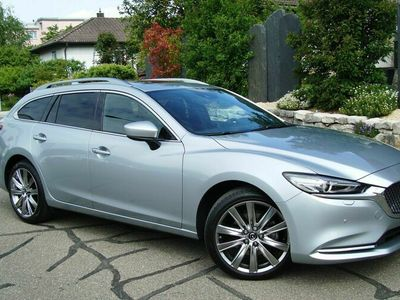 gebraucht Mazda 6 Sportwagon SKYACTIV-D 184 Revolution Automat AWD