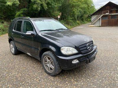 gebraucht Mercedes ML270 M-Klassecdi Motor und Getriebe funktioniert fehlt Kat