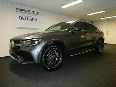 gebraucht Mercedes 220  GLC CoupéAMGLine 4M