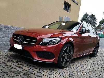 gebraucht Mercedes C250 C-Klasse MercedesSW 4matic AMG Line