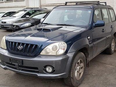 gebraucht Hyundai Terracan Bonne Teracan 2.9L CRDi (Turbo Diesel) Manuelle