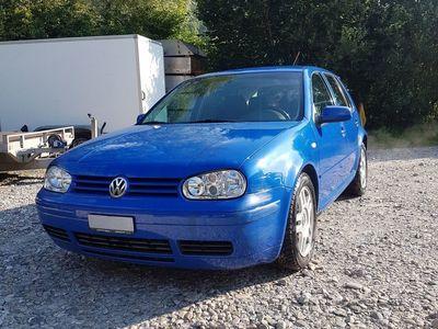 gebraucht VW Golf IV GTI ab MFK