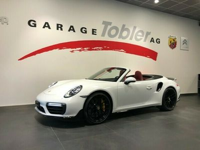 gebraucht Porsche 911 Turbo S Cabriolet PDK