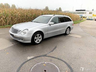 gebraucht Mercedes E320 4x4 CDI Mit Mfk 20.09.2018
