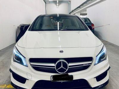 gebraucht Mercedes CLA45 AMG Shooting Brake AMG 4Matic Speedshift