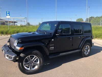 gebraucht Jeep Wrangler 3.6 Unlimited Sahara Automatic hardtop
