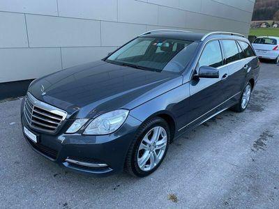gebraucht Mercedes E250 E-KlasseCDI BlueEff. Avantgarde 4Matic 7G-Tronic
