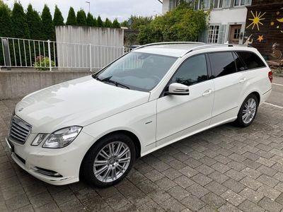 gebraucht Mercedes E350 E-KlasseCDI BlueEfficiency Elégance 4Matic 7G-Tronic