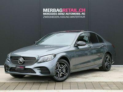 gebraucht Mercedes C300 C-Klassee AMG Line 4Matic