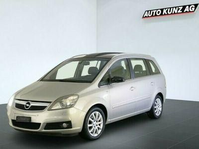 gebraucht Opel Zafira B2.2i Sport Klima 7Pl.