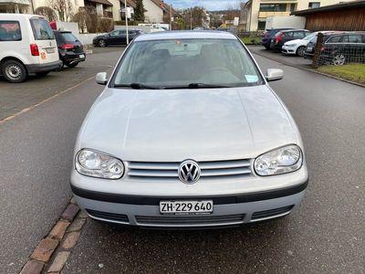 gebraucht VW Golf IV Golf WVDIEZEL 1.9TDI FRISCH AB MFK
