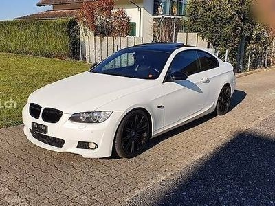 gebraucht BMW 335 3er i Coupé / Performance Auspuff / Weiss matt