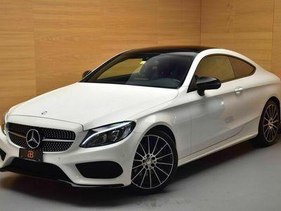 gebraucht Mercedes C220 d AMG Line Coupé 9G-Tronic
