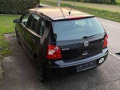 gebraucht VW Polo 1.2l schwarz met.