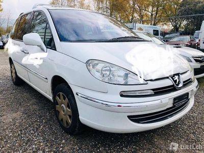 gebraucht Peugeot 807 2.0 16V HDi Swiss Edition