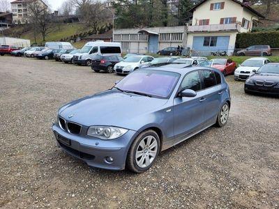 gebraucht BMW 120 1er d Leder Schiebedach B04