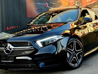 gebraucht Mercedes A35 AMG 4Matic Speedshift ***Black Edition - Head Up - Soundsystem - Distronic Plus - MULTIBEAM***