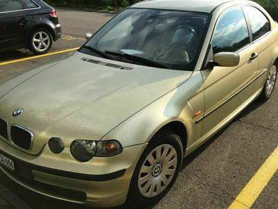gebraucht BMW 316 Compact 3er ti E46 frisch ab MFK und Inspektion II